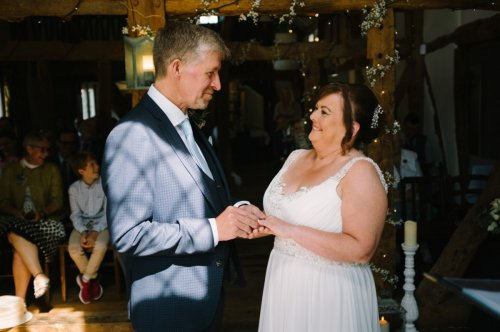 Karen and Clive's wedding at the Plough Inn in Eaton