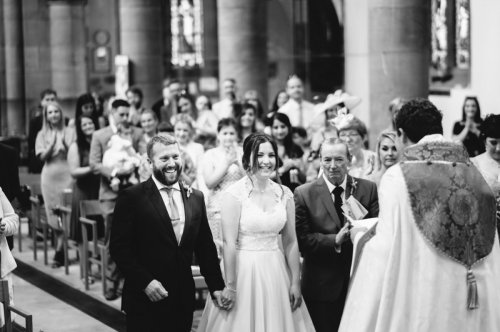 Image of wedding in St Chads Church