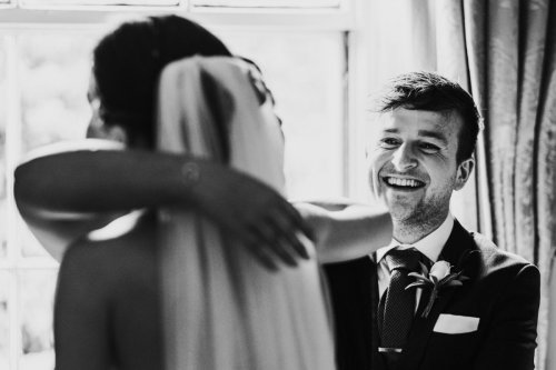 Guests hug at Middlethorpe Hall in York