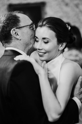 Father and bride dance at Middlethorpe Hall in York